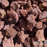 pierre volcanique rouge p8-18