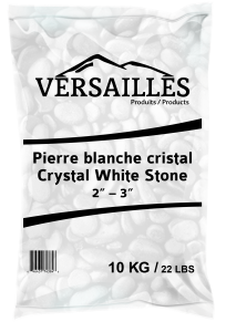 pierre blanche cristal
